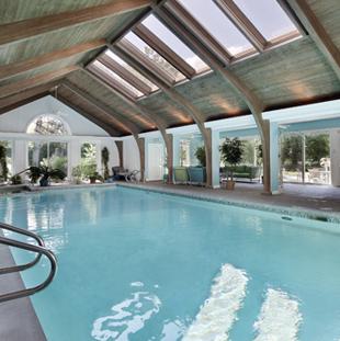 Confort pour piscine et spa intérieur avec DRY-O-TRON